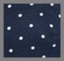 海军蓝圆点花纹
