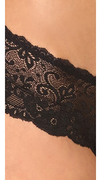 Les Coquines Evi Lace Cheeky Briefs
