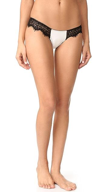 Les Coquines Mia Eyelash Cheeky Panties