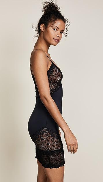 Les Coquines Gemma Lace Slip Dress