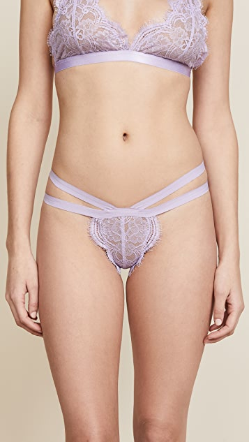 Les Coquines Lily Thong - Lavender