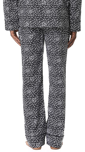 Les Girls, Les Boys Star Print Pajama Bottoms