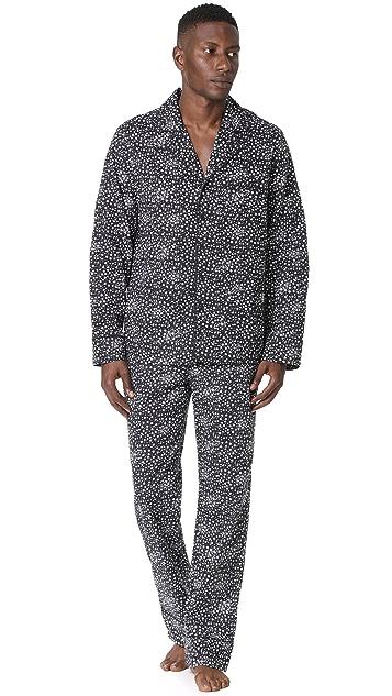 Les Girls, Les Boys Star Print Pajama Bottoms