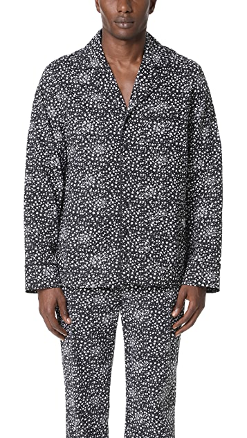 Les Girls, Les Boys Star Print Pajama Top