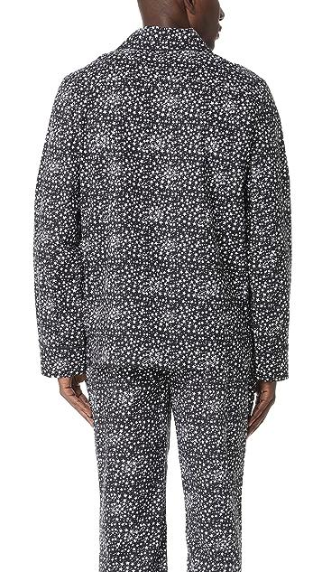 Les Girls, Les Boys Star Print Pajama Top