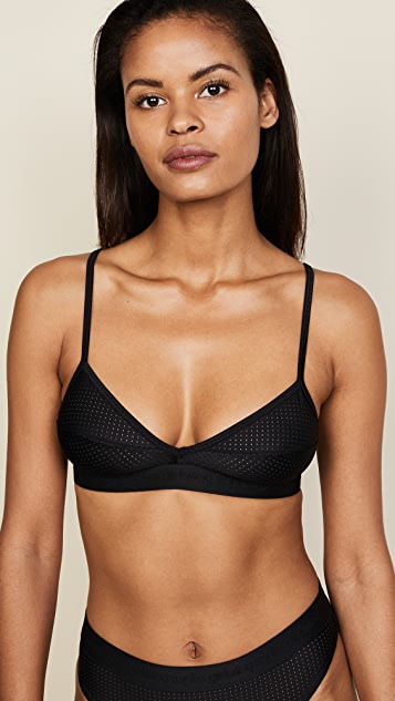 Les Girls Les Boys Logo Triangle Bra