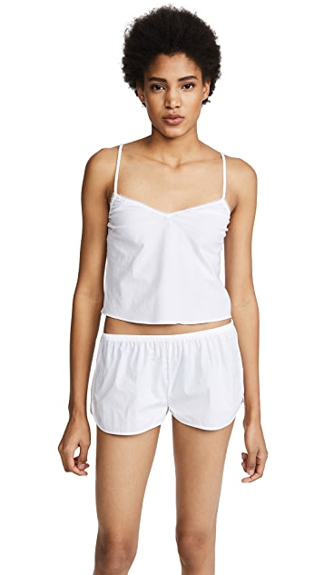 Les Girls, Les Boys Woven Cotton Camisole