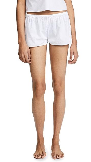 Les Girls, Les Boys Woven Cotton Shorts