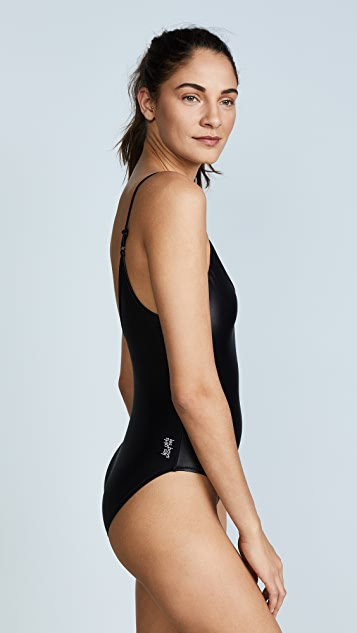 Les Girls, Les Boys Wetlook Swimsuit