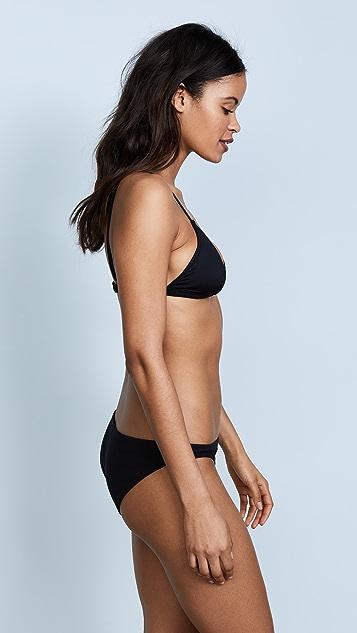 Les Girls, Les Boys Track Triangle Bikini Top