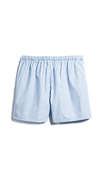 Les Girls, Les Boys Woven Cotton Boxers
