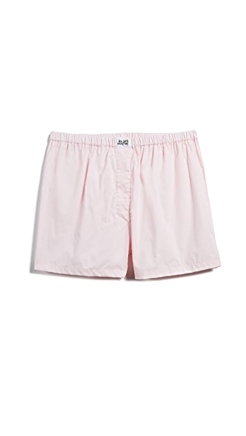 Les Girls, Les Boys Woven Cotton Boxers