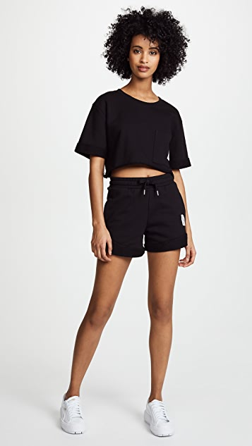 Les Girls Les Boys High Waist Shorts