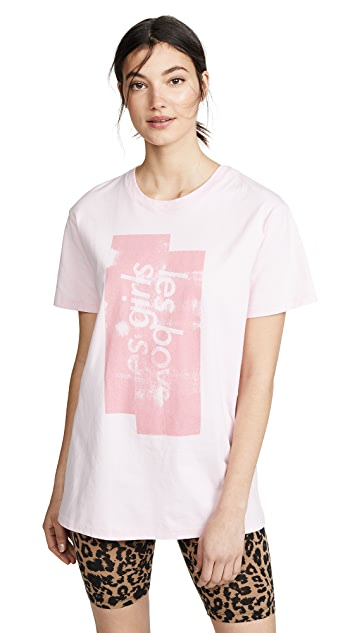 Les Girls Les Boys Graphic T-Shirt