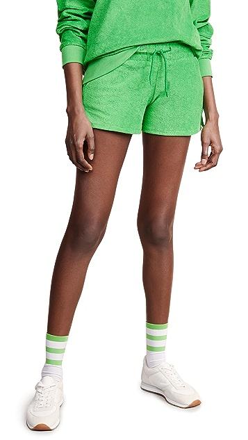 Les Girls Les Boys Terry Shorts