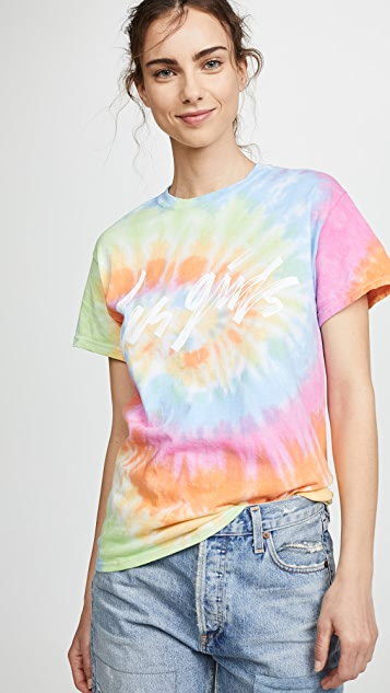Les Girls, Les Boys Psychedelic Tee - Multi