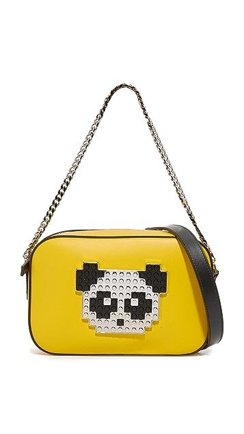 les petits joueurs Roy Metal Panda Bag