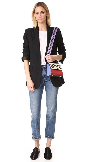 les petits joueurs Alex Black Widow Micro Shoulder Bag