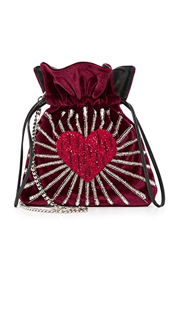 les petits joueurs Trilly Heart Bag