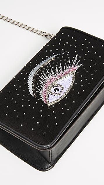 les petits joueurs Ginny Eye Strass Clutch