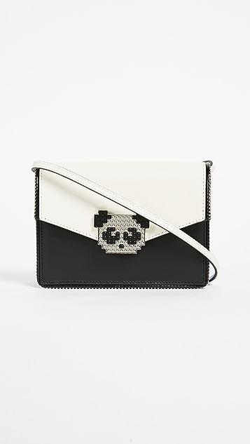 les petits joueurs Lulu Metal Panda Cross Body Bag
