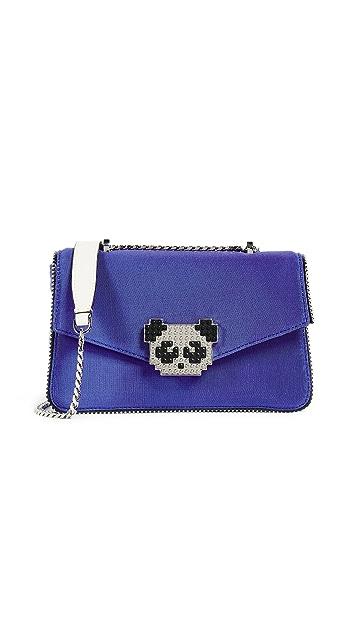 les petits joueurs Ivy Panda Shoulder Bag