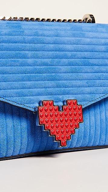 les petits joueurs Heart Shoulder Bag