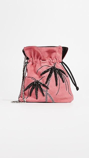 les petits joueurs Palm Tree Pouch - Pink