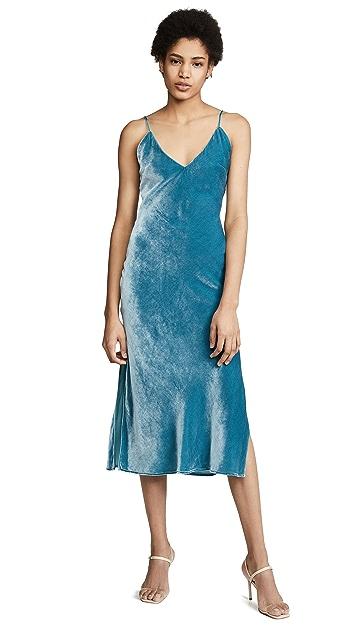 Le Superbe Nomad Velvet Slip Dress