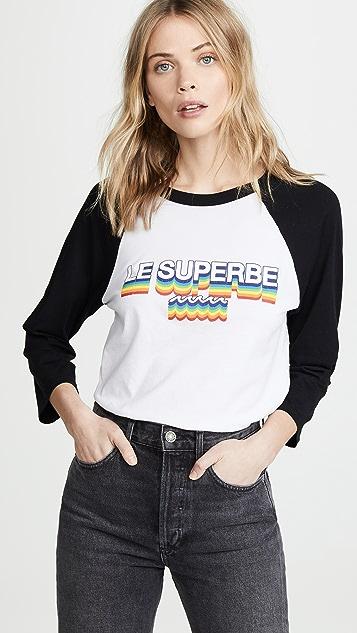 Le Superbe Lesuperbe Graphic Baseball Shirt