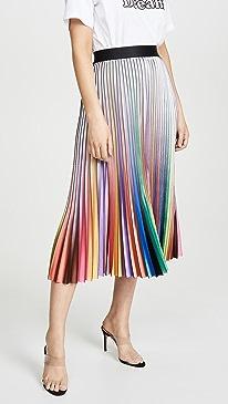Rainbow Room Pleated Skirt