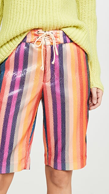 Le Superbe Epic 条纹短裤