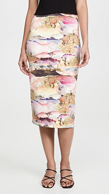 Le Superbe Two Timber Reversible Skirt