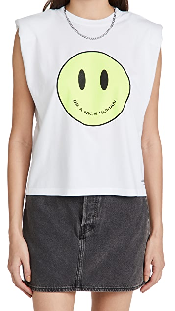 Le Superbe Just Be Nice Mas Muscle Tee