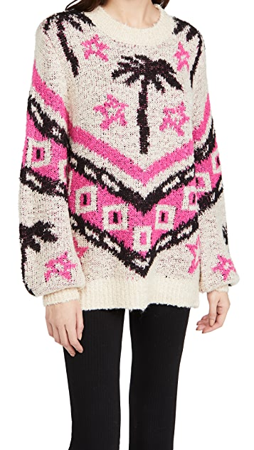 Le Superbe Bonfire Beach Pullover