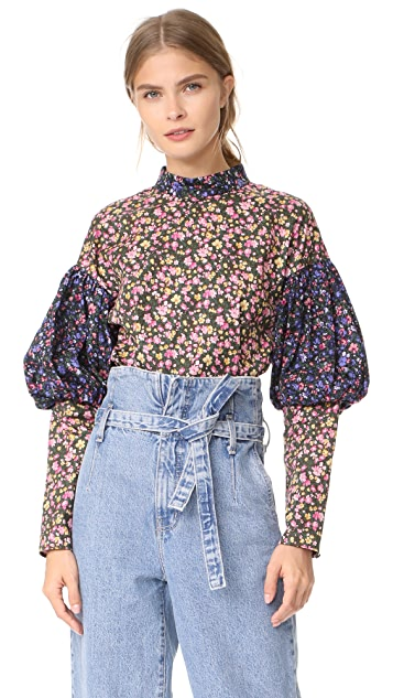 Leur Logette Mini Flower Top
