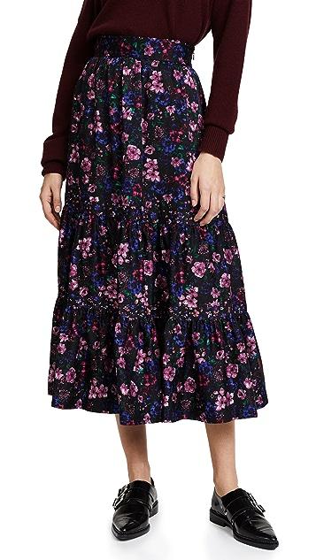 Leur Logette Forest Flower Skirt