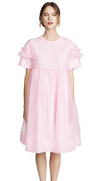 Leur Logette her selfservice Organza Layered Dress