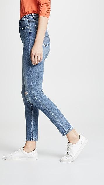 Модель Lee в стиле современный винтаж Джинсы-скинни