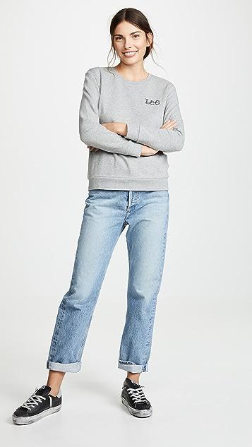 Lee Vintage Modern Lee Logo Sweatshirt