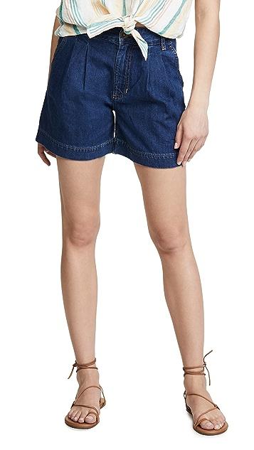 Lee Vintage Modern Pleated Shorts