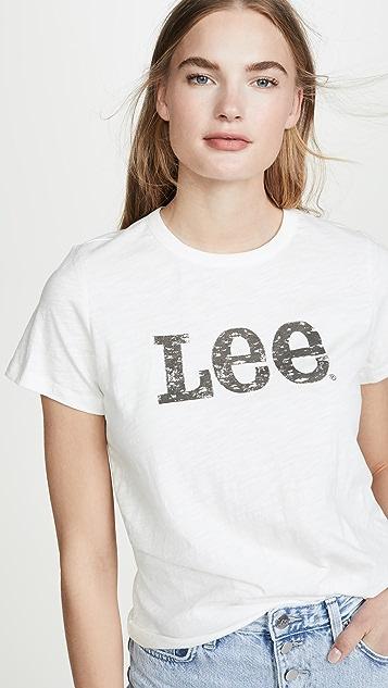 Lee Vintage Modern Lee Logo Tee