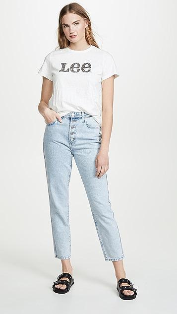 Lee Vintage Modern Lee 标志 T 恤