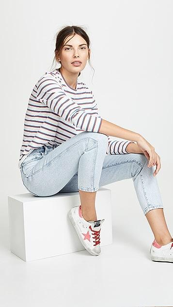 Модель Lee в стиле современный винтаж Прямые джинсы