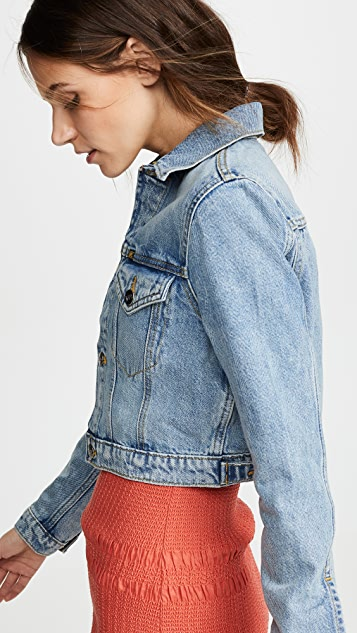 Lee Vintage Modern Cropped Trucker Jacket