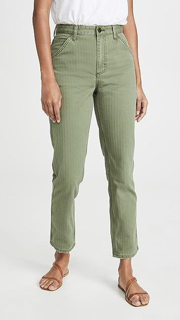 Lee Vintage Modern High Rise Dungaree Ankle Jeans