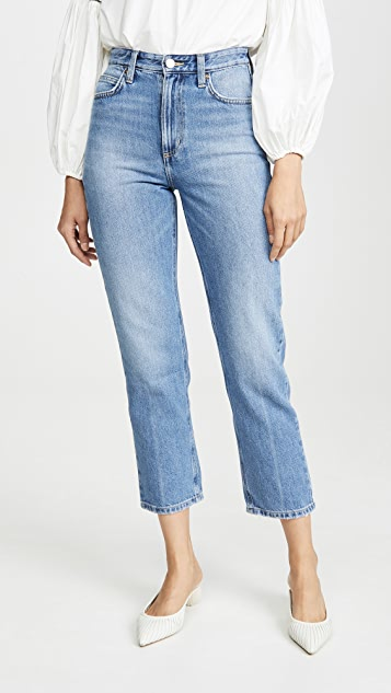 High Rise Straight Ankle Jeans by Lee Vintage Modern