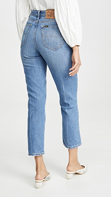 Lee Vintage Modern High Rise Straight Ankle Jeans