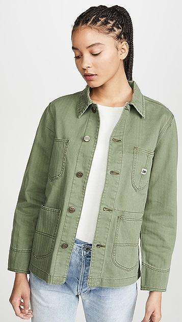 Lee 复古时尚魅力 Loco Chore 夹克