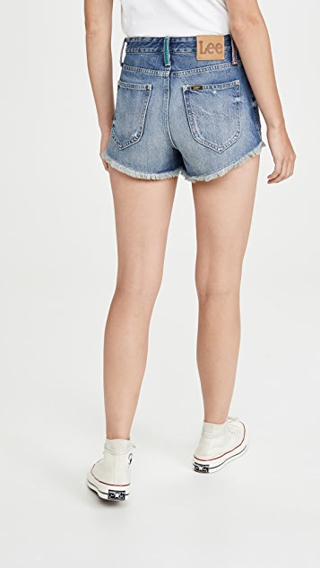 Lee Vintage Modern 高腰超短裤